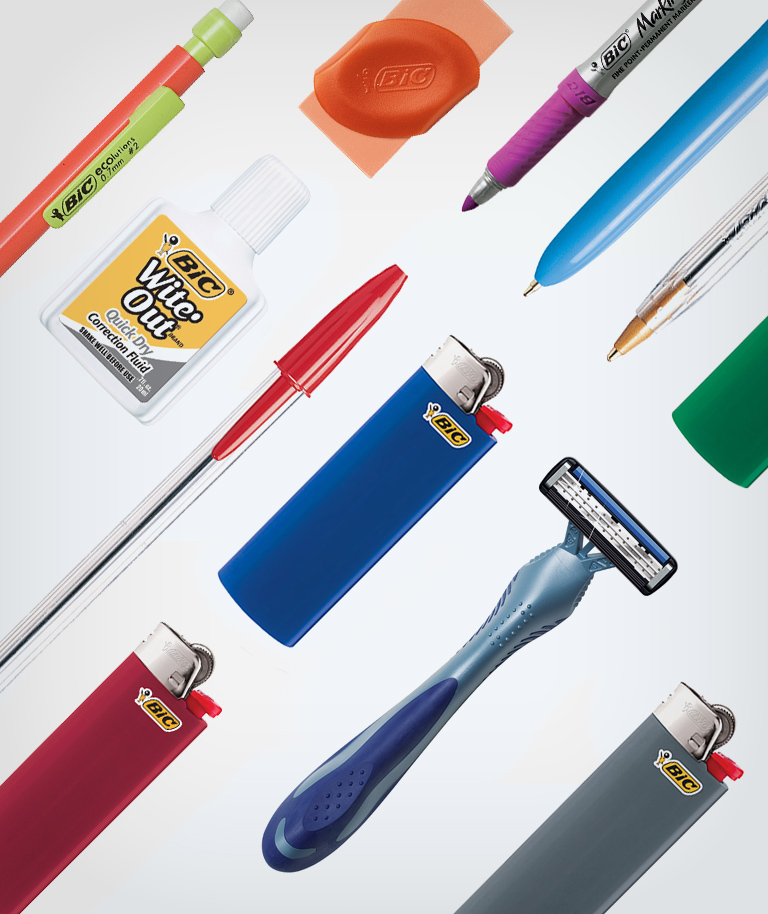 BIC products composition