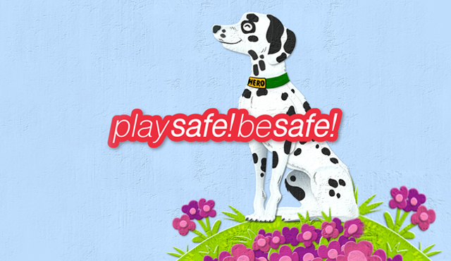 play safe be safe logo