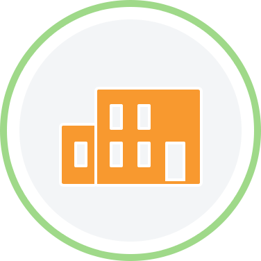 factory green circle icon