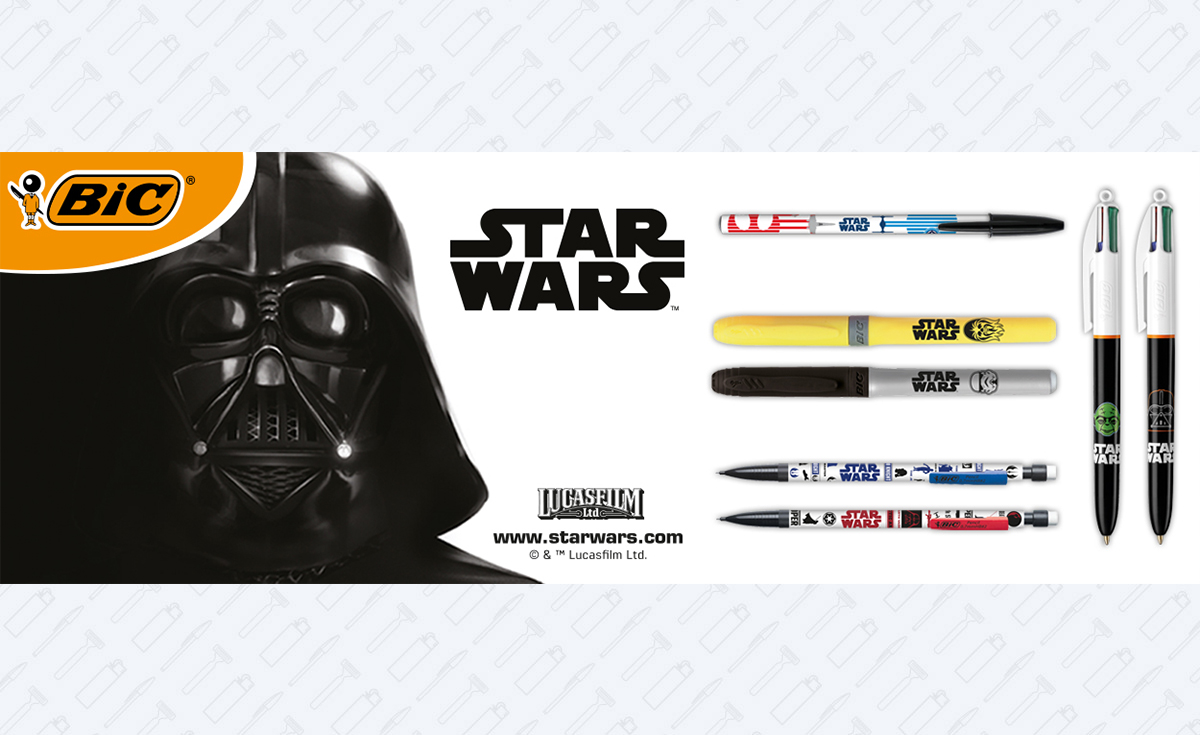 BIC Launches Star Wars Stationery Range