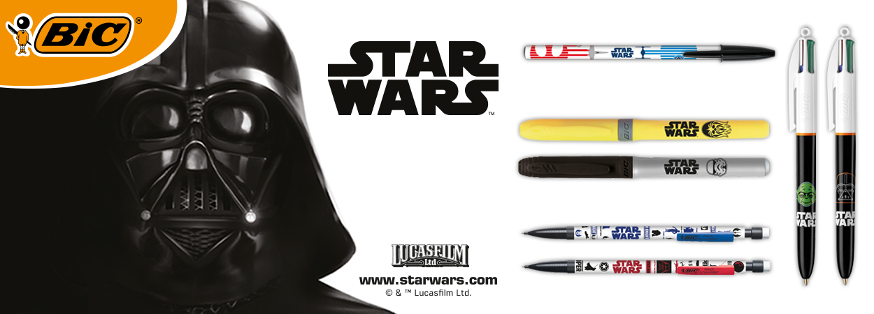 Star Wars Stationery Line