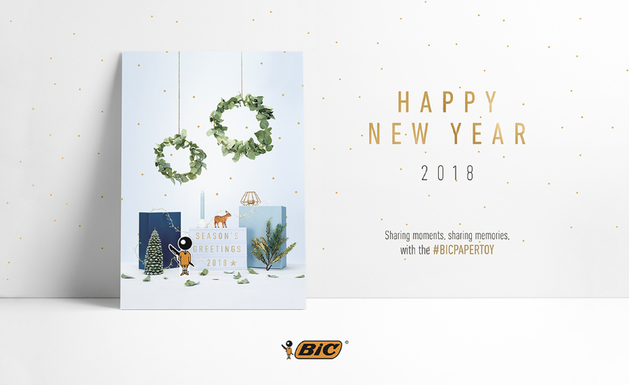 Season's Greetings from BIC