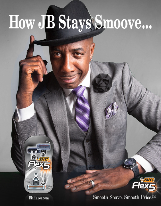 BIC Flex Razors Partner with Comedian JB Smoove