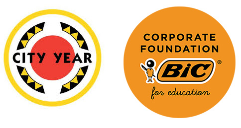 City Year and BIC Foundation for Education Logos